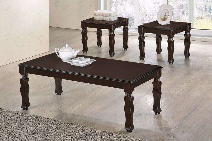 Akim 1+2 Coffee Set - 1+2 & 1+4 Coffee Table Set - Golden Tech Furniture Industries Sdn Bhd