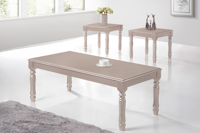 Ardon 1+2 Coffee Table Set - 1+2 & 1+4 Coffee Table Set - Golden Tech Furniture Industries Sdn Bhd