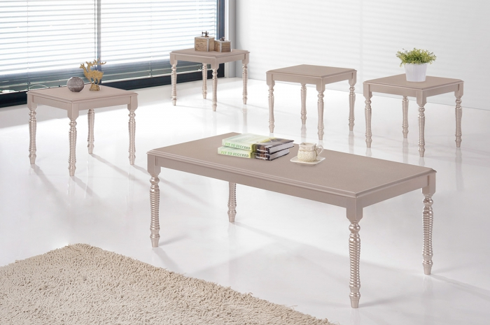 Ardon 1+4 Coffee Table Set - 1+2 & 1+4 Coffee Table Set - Golden Tech Furniture Industries Sdn Bhd