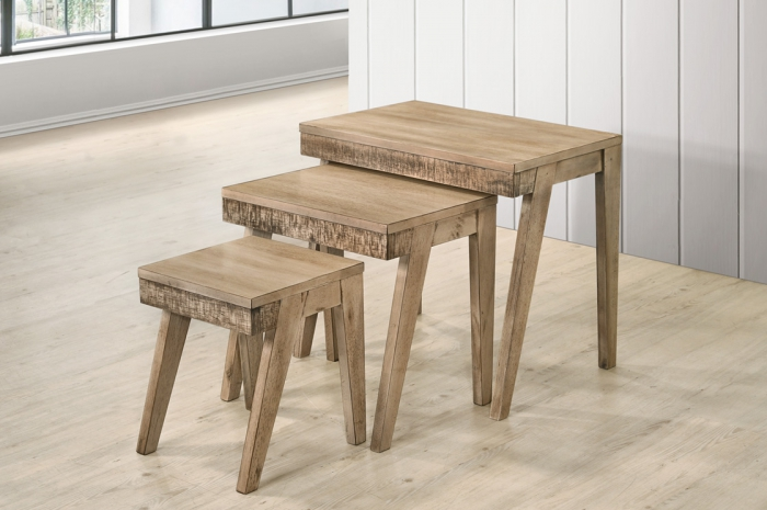 Ceciro Nesting Table - Nesting Table - Golden Tech Furniture Industries Sdn Bhd