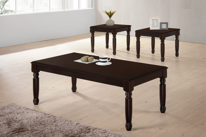 Conica 1+2 Coffee Table Set - 1+2 & 1+4 Coffee Table Set - Golden Tech Furniture Industries Sdn Bhd
