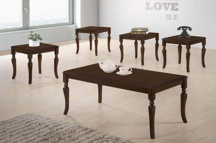 Cooper 1+4 Coffee Table Set - 1+2 & 1+4 Coffee Table Set - Golden Tech Furniture Industries Sdn Bhd
