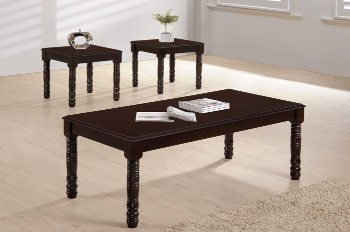 Gabi 1+2 Coffee Table Set - 1+2 & 1+4 Coffee Table Set - Golden Tech Furniture Industries Sdn Bhd