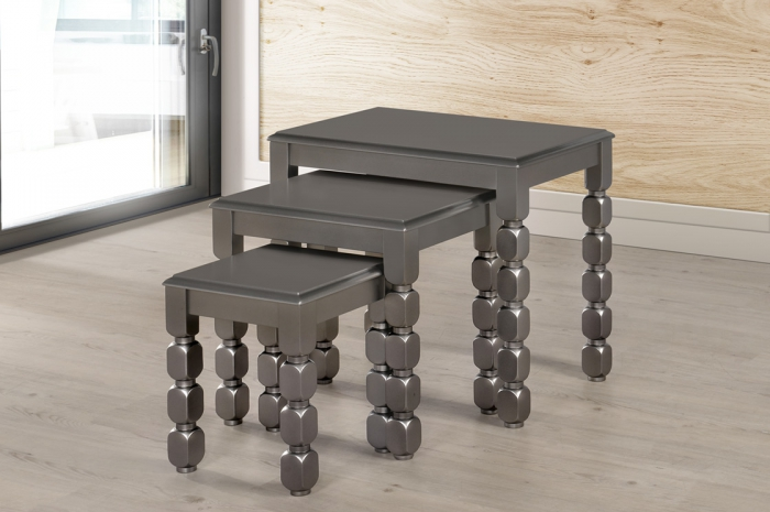 Hummer Nesting 123 - Nesting Table - Golden Tech Furniture Industries Sdn Bhd