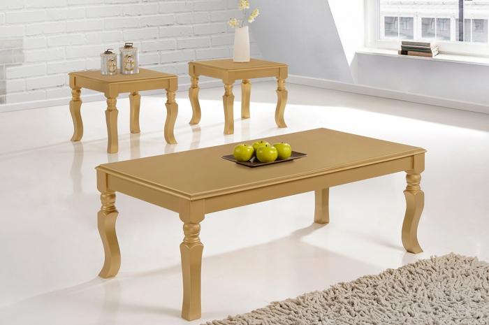 Jirawi 1+2 Coffee Table Set - 1+2 & 1+4 Coffee Table Set - Golden Tech Furniture Industries Sdn Bhd