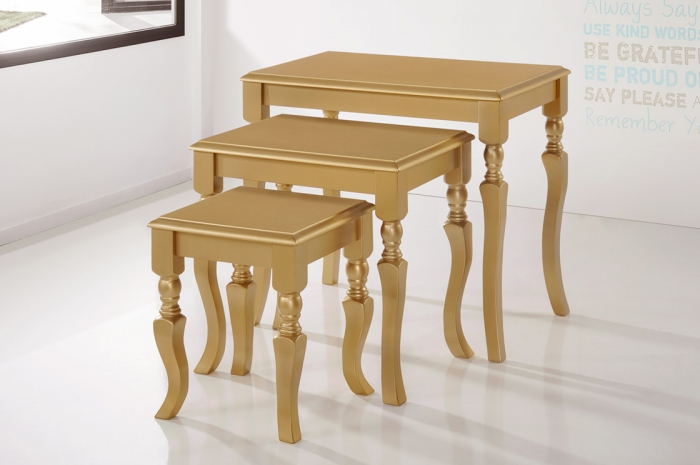 Jirawi Nesting Tables 123 - Nesting Table - Golden Tech Furniture Industries Sdn Bhd