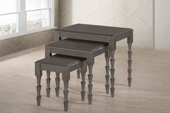 Masha Nesting 123 - Nesting Table - Golden Tech Furniture Industries Sdn Bhd