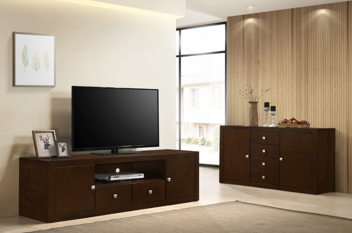 Moda-MDR Sideboard 1500 & TV Console 1900 - Sideboard & TV Console - Golden Tech Furniture Industries Sdn Bhd