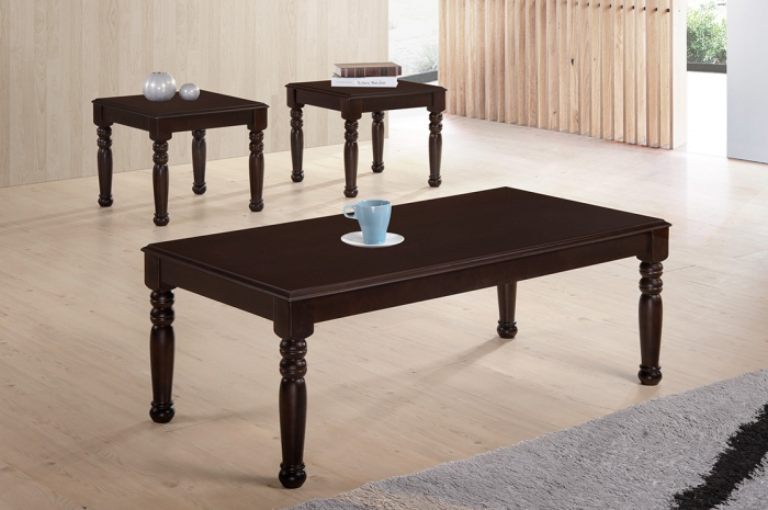 Nabila 1+2 Coffee Table Set - 1+2 & 1+4 Coffee Table Set - Golden Tech Furniture Industries Sdn Bhd