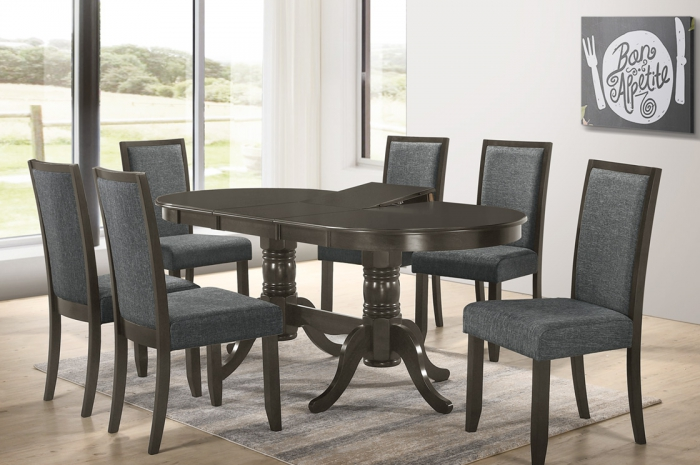 Serene 1+6 Dining Set - Dining Set - Golden Tech Furniture Industries Sdn Bhd