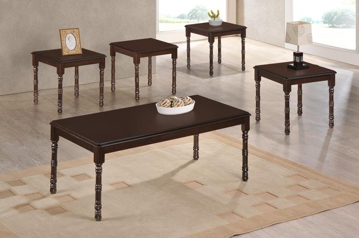 Yangon 1+4 Coffee Set - 1+2 & 1+4 Coffee Table Set - Golden Tech Furniture Industries Sdn Bhd